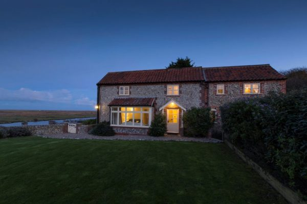 Creek Cottage at Salthouse, Norfolk